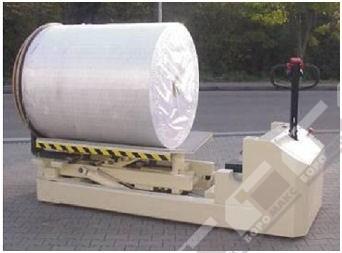 Электротележки для перевозки и переворачивания рулонов (перевозчики рулонов, транспортировщик рулонов)