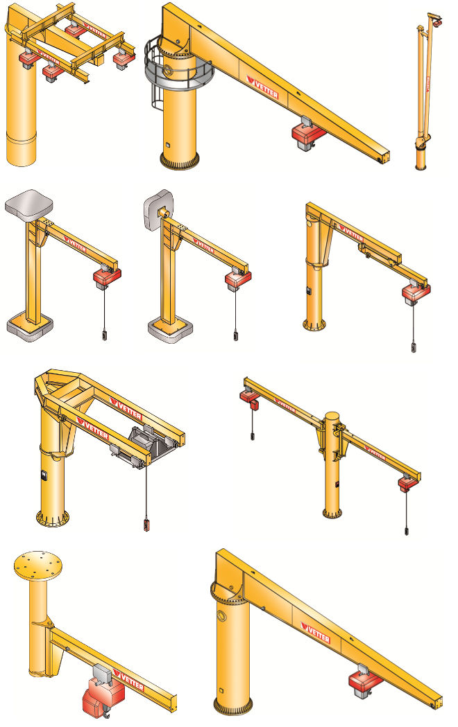 схема консольный кран